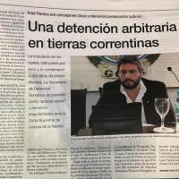 Más de 100 diarios publicaron la injusticia que atraviesa Ariel Pereira en Goya