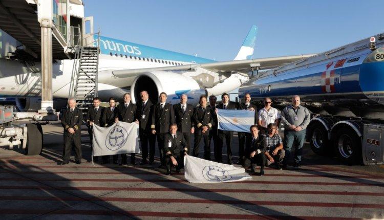 Aerolíneas Argentinas rumbo a China