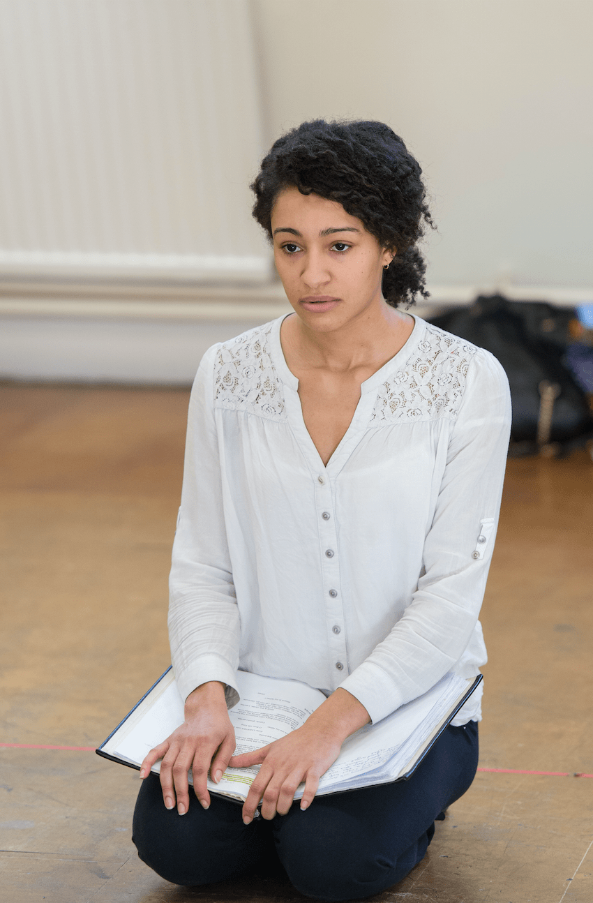 Natalie Simpson RSC Hamlet Rehearsals SincerelyAmy