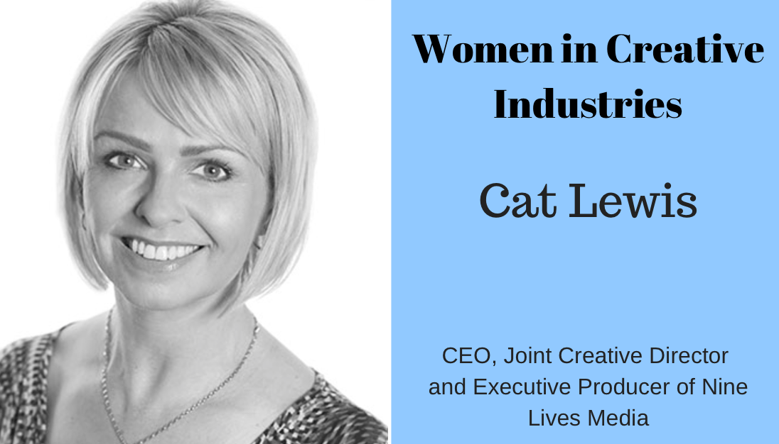 Cat Lewis, Women in Creative Industries Wonder Women