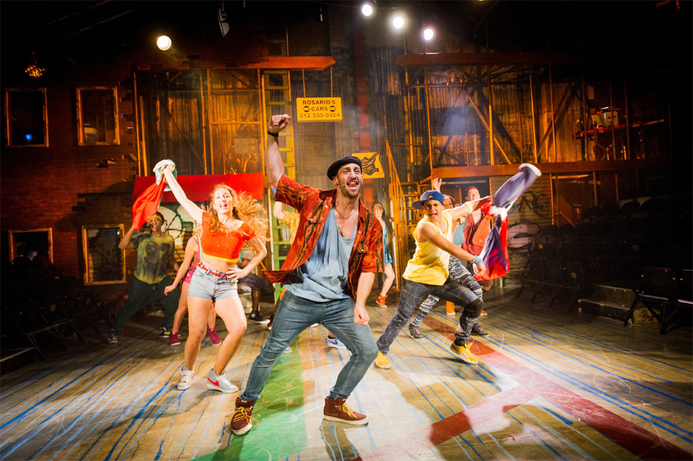 Sam Mackay as Usnavi In The Heights