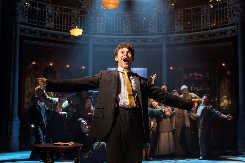 Charlie Stemp as Arthur Kipps in Chichester Festival Theatre's HALF A SIXPENCE. Photo by Manuel Harlan.