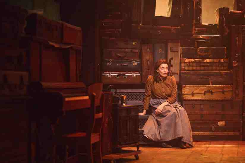 Rebecca Trehearn as Rebecca in RAGS. Credit Nathan Chandler (2)