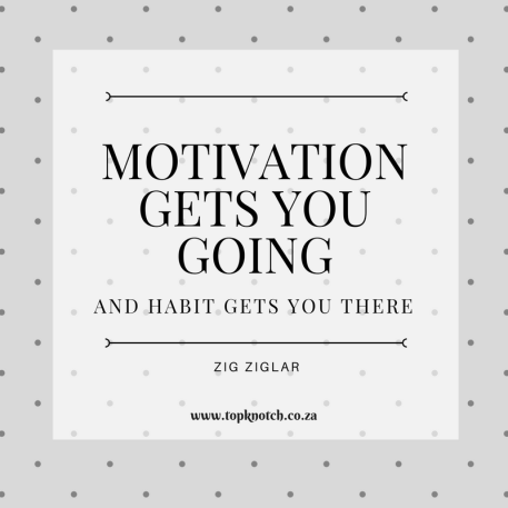 Weekly Planner Motivational Quote