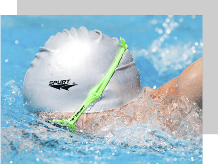 spurt swimming gear win with topknotch