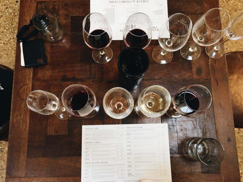Spier Wine Farm Wine Tasting