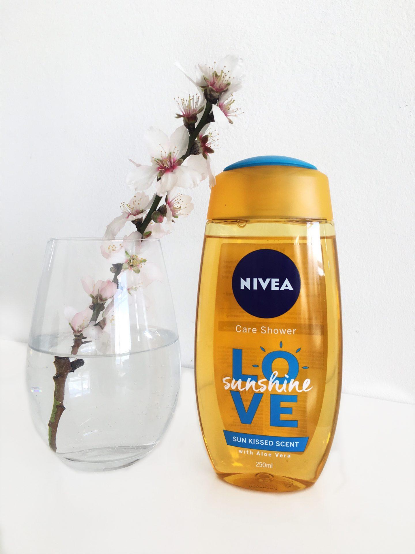 Affordable beauty products topknotch blog nivea sunshine love shower gel