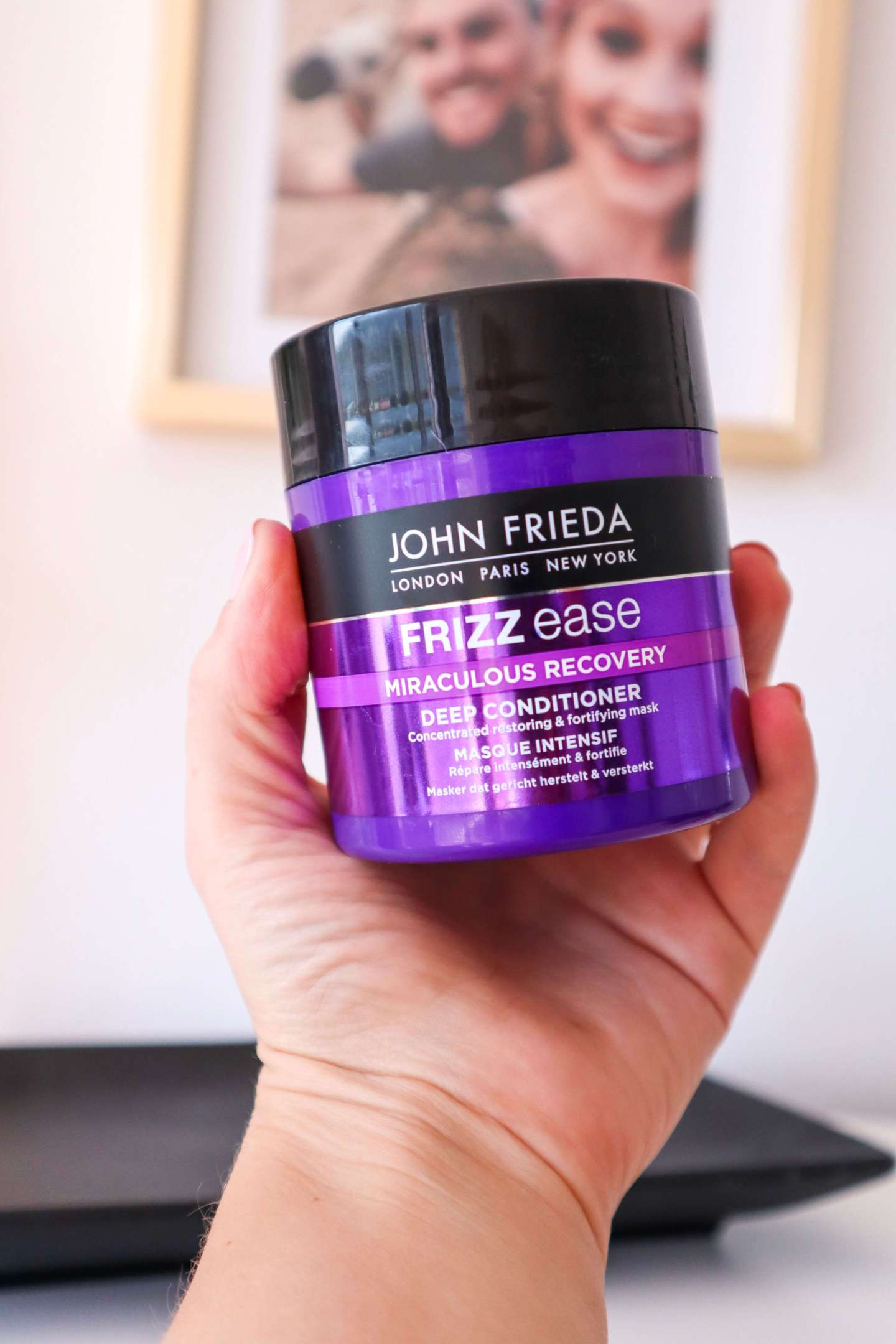 John Frieda miraculous recovery mask Rachael Williams Sincerely Blonde.png