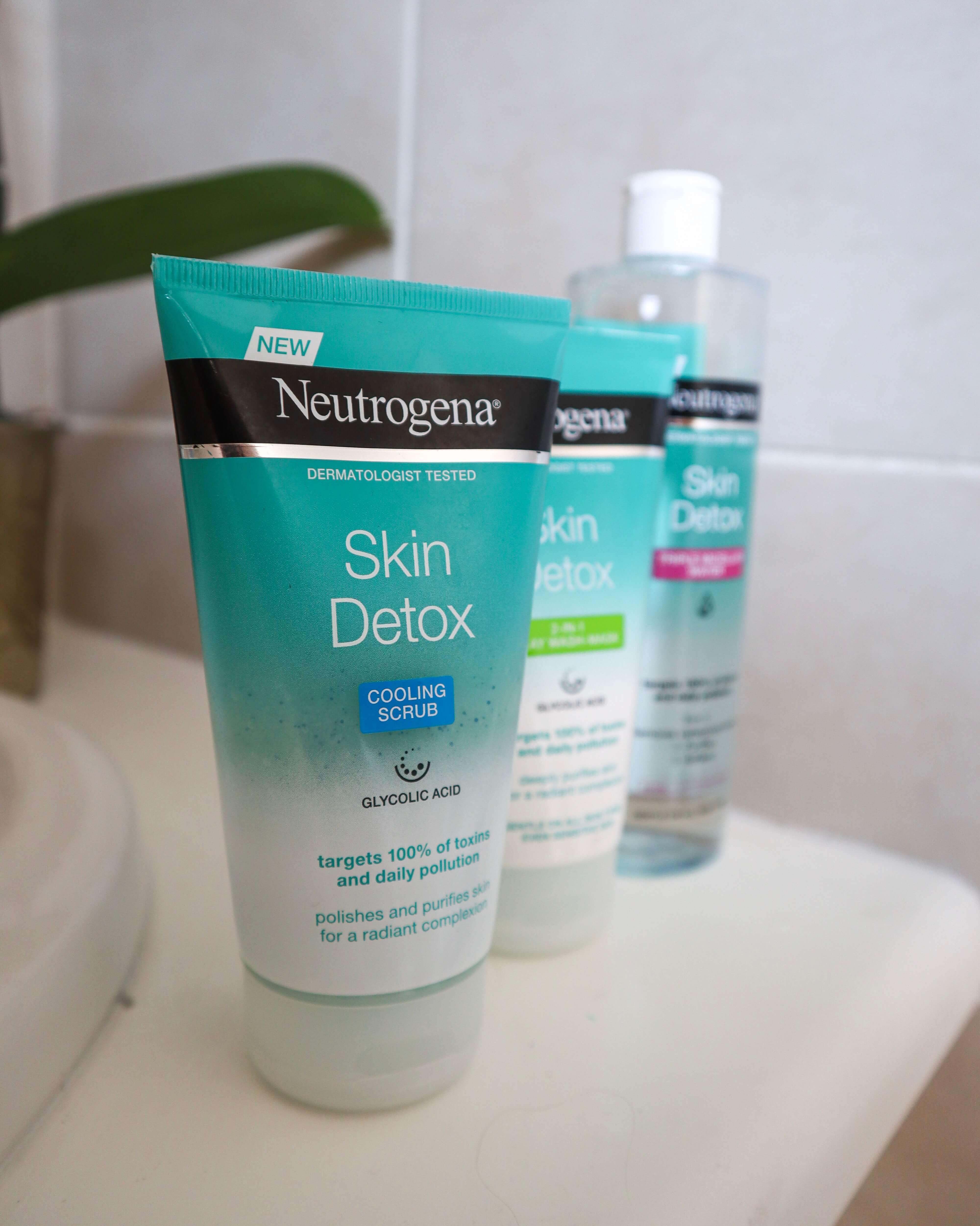 Neutrogena Skin Detox cooling scrub