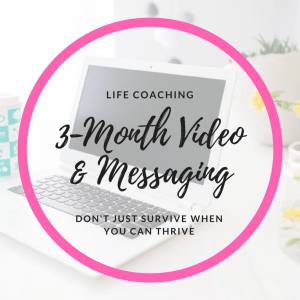 video and messaging life coaching