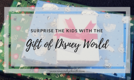 Our Disney Reveal and a Countdown Calendar Printable