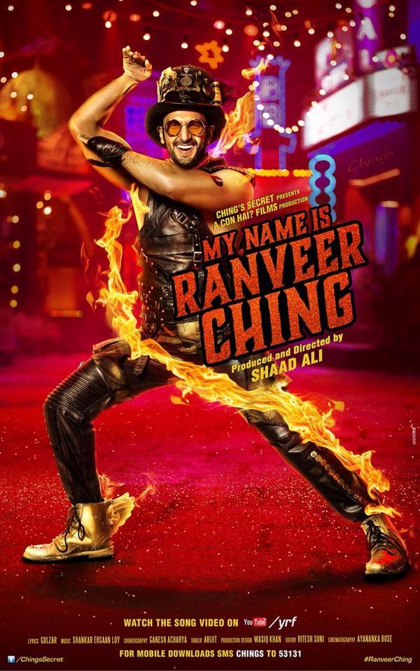 Ranveer Singh Ching song