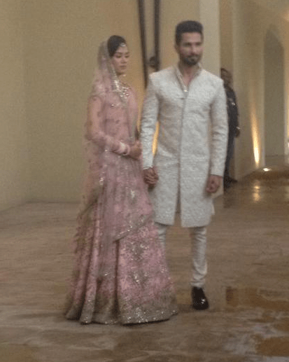 shahid marriage