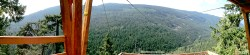 Panorama of the view from the first line!