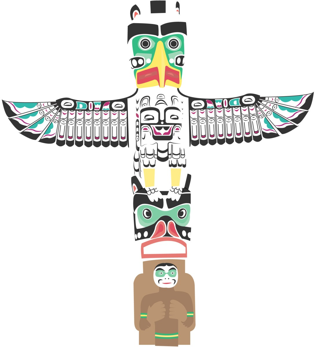 small resolution of totem pole in stanley park sincerely loewe