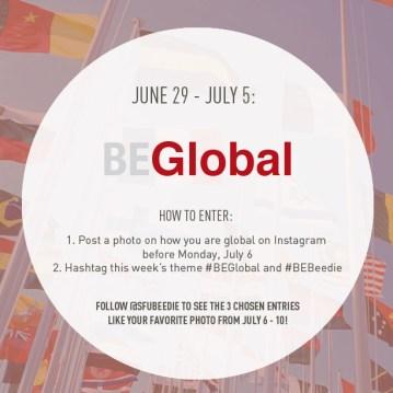 Theme 3: #BEGlobal