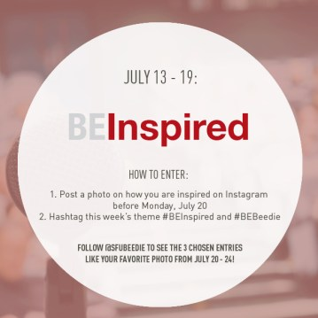 Theme 4: #BEInspired