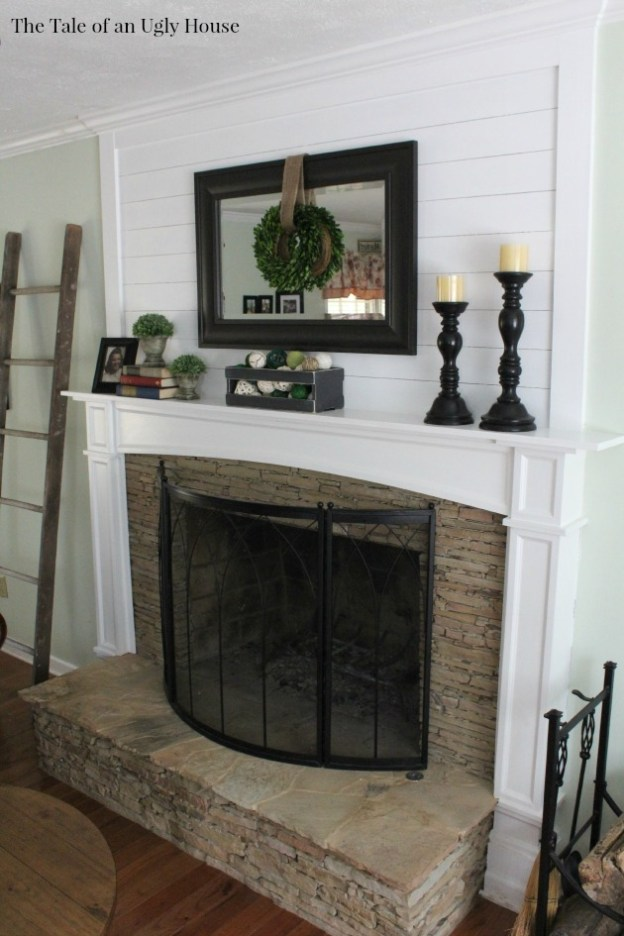 Ship Lap Amp A Fireplace Sincerely Marie Designs