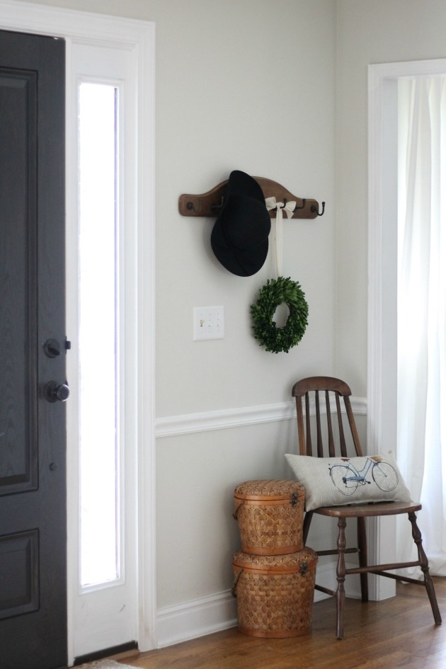 Entry Way Before & After