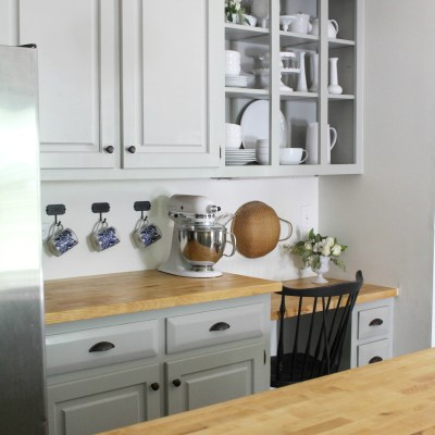 Kitchen Cabinets vs. Open Shelving – My Thoughts on Both