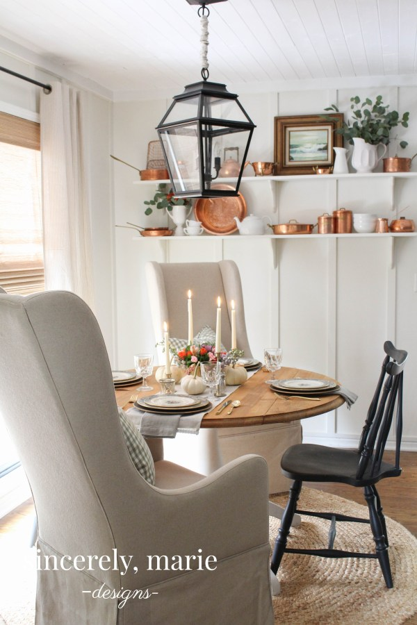 Timeless Thanksgiving Tablescape