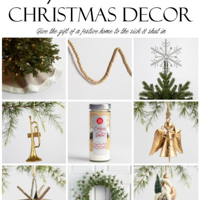 Give the Gift of a Festive Home to the Sick & Shut-In