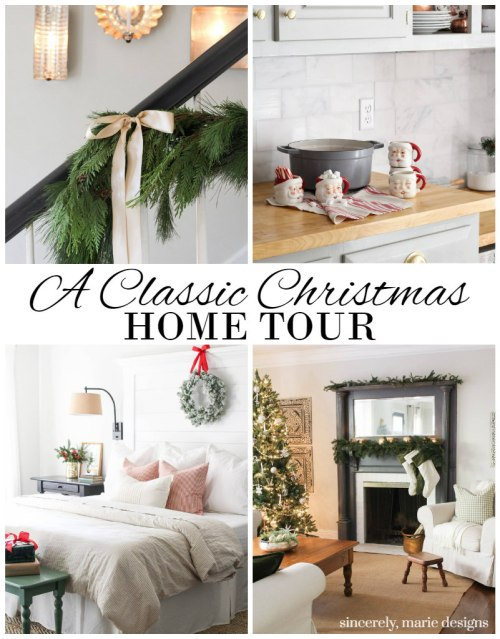 A Final Look At Our Classic Christmas Home