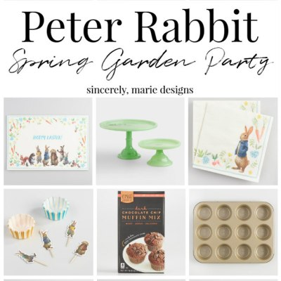 Peter Rabbit Spring Garden Party