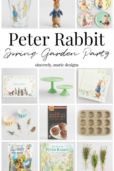 Peter Rabbit Garden Party