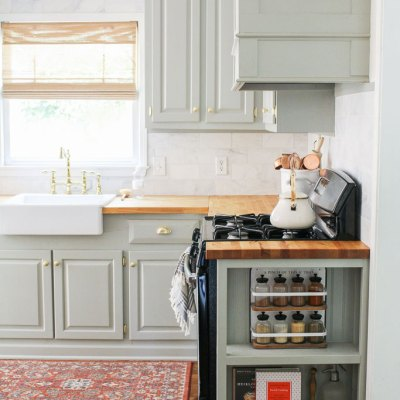 How To Give Cabinets A Custom Look Using Trim