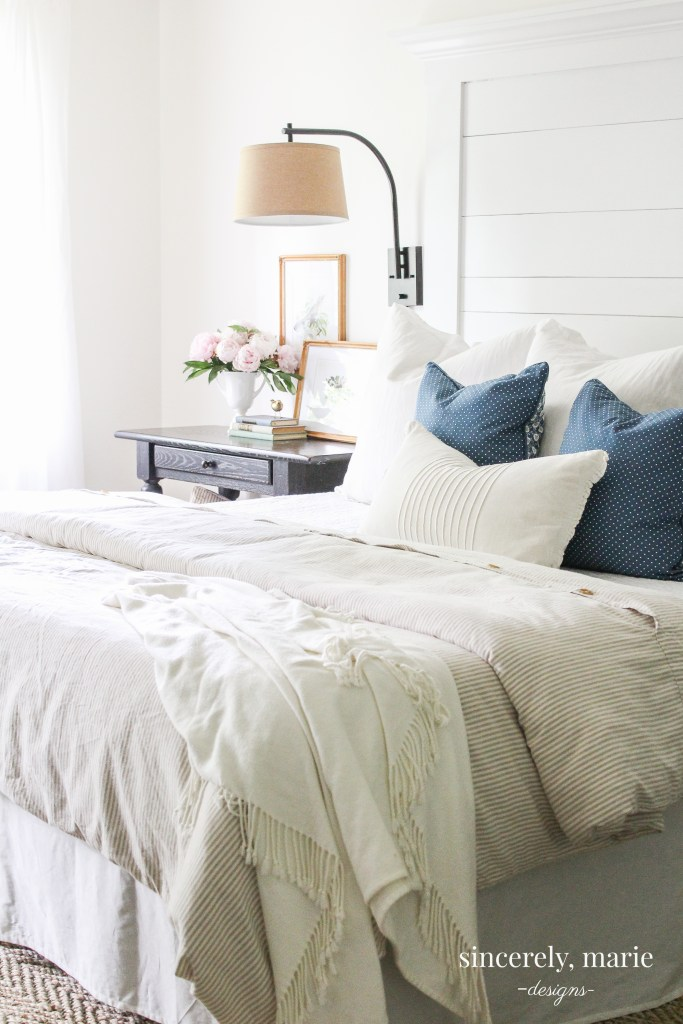 3 Ways To Create A Light Amp Airy Bedroom Sincerely Marie