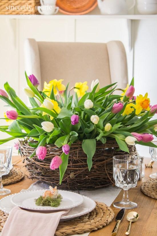 Garden Inspired Spring Table