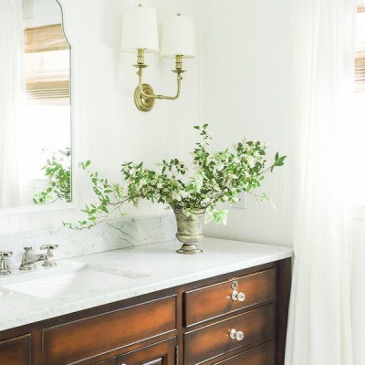 Elegant & Timeless Bathroom Reveal