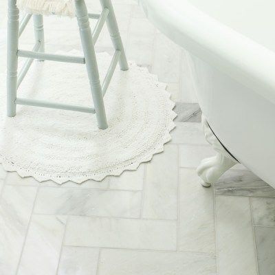 How-To Install Herringbone Tile & The Home Stretch
