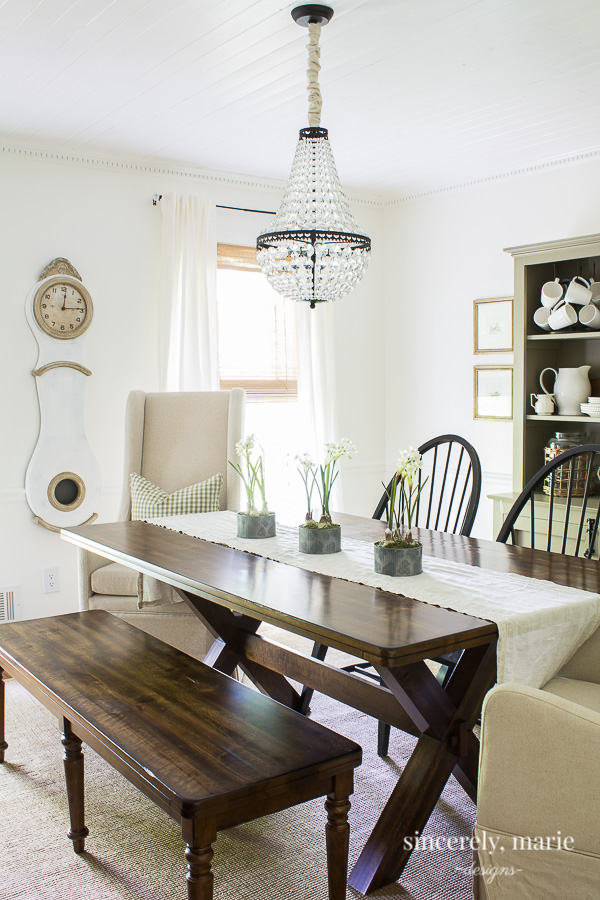 Classic Dining Room with European touches