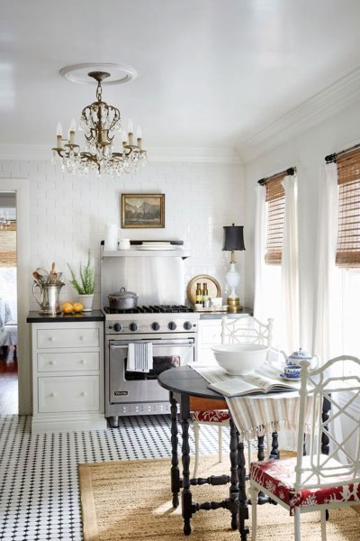 Timeless Eat-In Kitchens