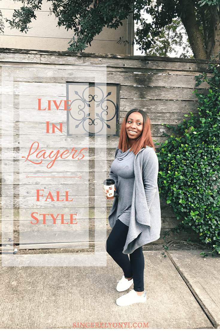 Fall Style Living In Layers AD #cuddlduds #livinginlayers #leggings #fashion #style #sponsored
