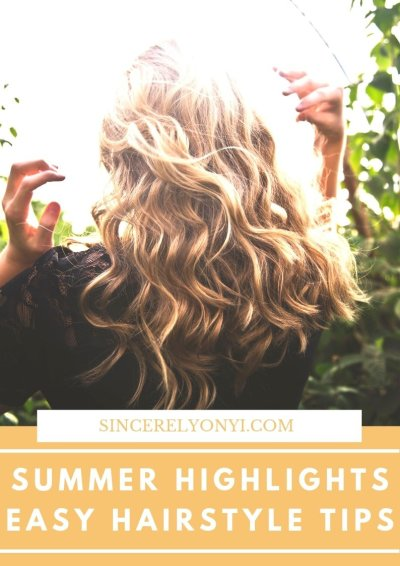 Loving My Summer Highlights With Her Hair Company