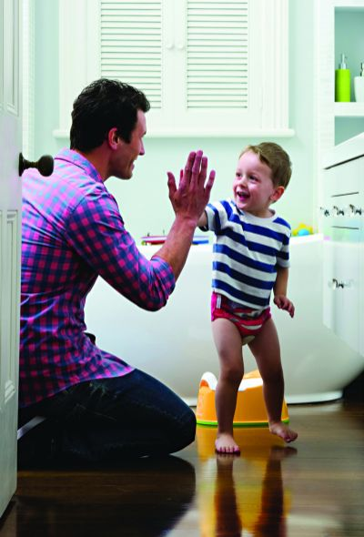 tips for potty training boys