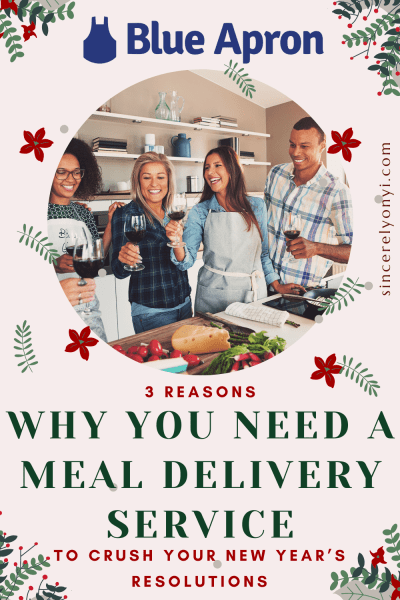 3 Reasons Why You Need A Meal Delivery Service To Crush Your New Year's Resolutions