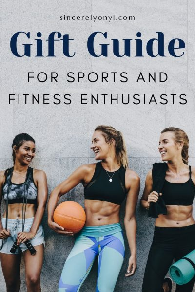 Gift Guide For Sports And Fitness Enthusiasts