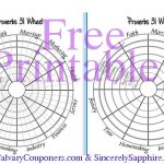 Free Printable Proverbs 31 Wheel Tracker