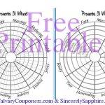 Free Printable Proverbs 31 Wheel Tracker
