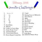 February 2018 Doodling Challenge