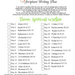 June 2018 scripture writing plan thumbnail