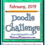 February 2019 Doodle Challenge header