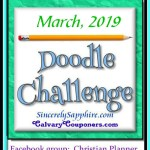 March 2019 doodling challenge