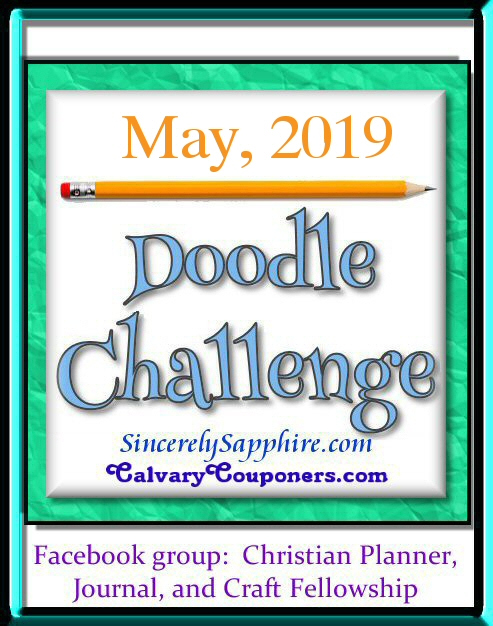 May 2019 doodle challenge banner