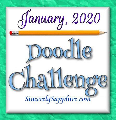 January 2020 Doodle Challenge header