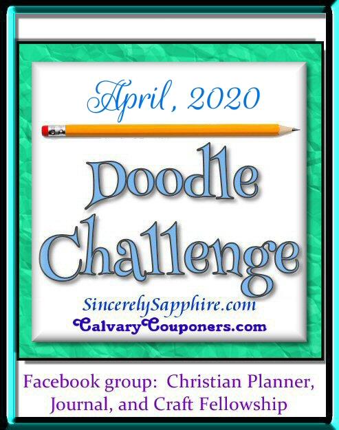 April 2020 Doodle Challenge header